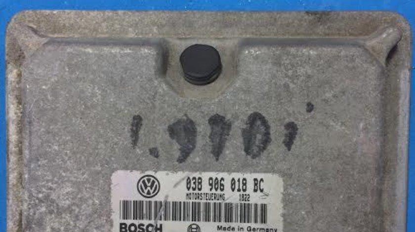 Calculator motor ECU Skoda Octavia 1 1U 1.9 TDI AGR an 1996 - 2010 cod  038906018BC
