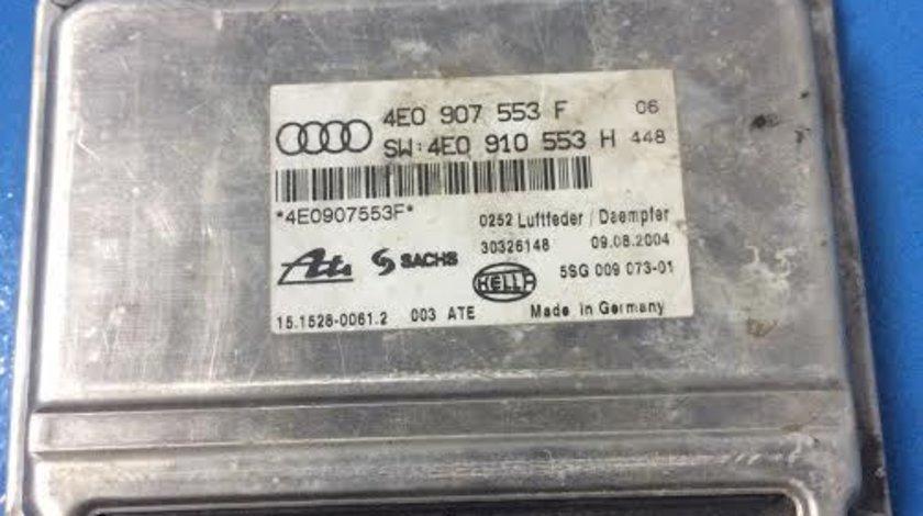 Calculator motor / ECU / suspensie airmatica Audi A8 4E D3 3.0 tdi 2002-2009 cod: 4E0907553F