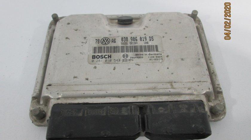 Calculator motor / ECU Vw Passat an 2000-2005 cod 038906019D5