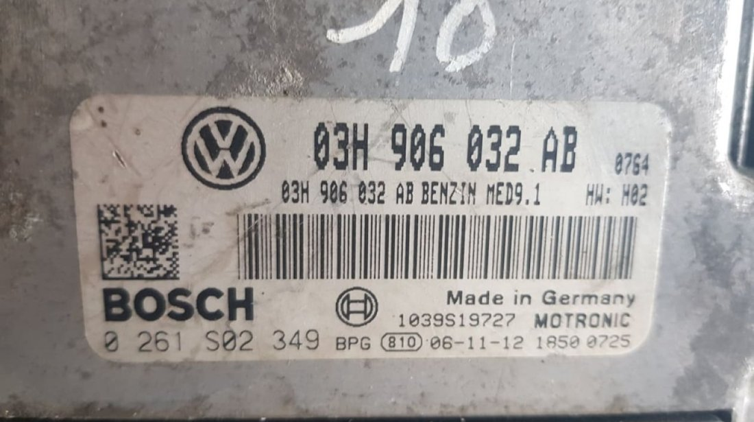 Calculator motor Ecu VW Passat B6 3.2FSi AXZ 03h906032ab