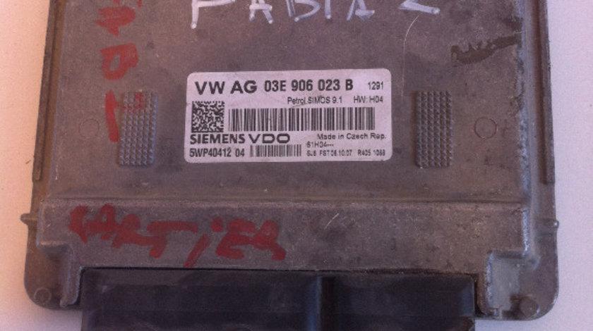 Calculator motor (ecu) vw polo 9n, skoda fabia 2, seat ibiza, 1.2b cod: 03e906023b