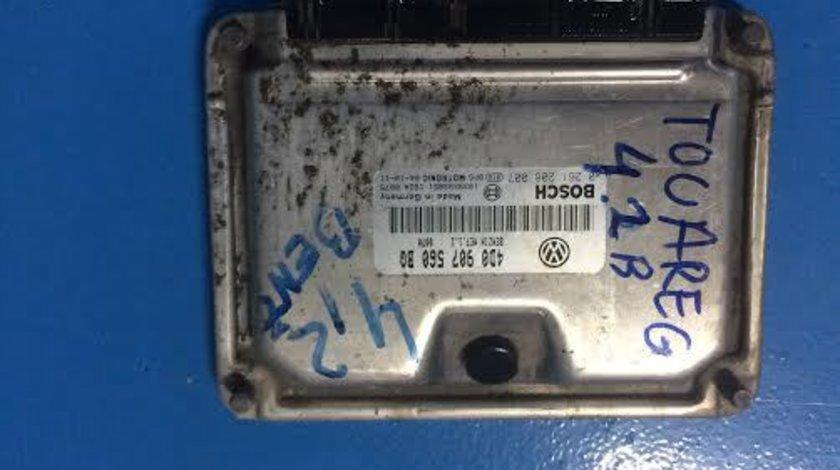 Calculator motor ECU Vw Touareg 4.2 fsi V8 2002-2009 cod: 4D0907560BQ
