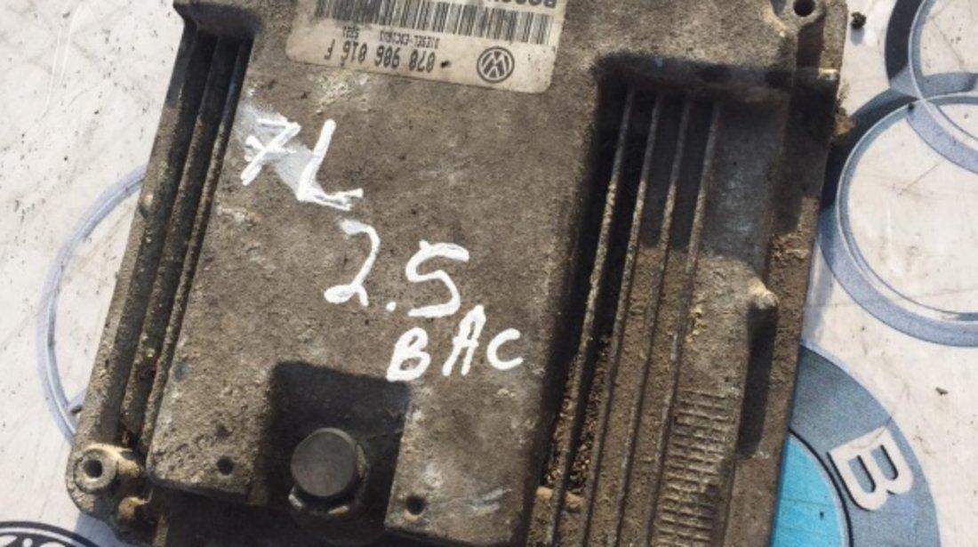 Calculator motor ECU VW Touareg 7l 2.5 BAC 070 906 016 F