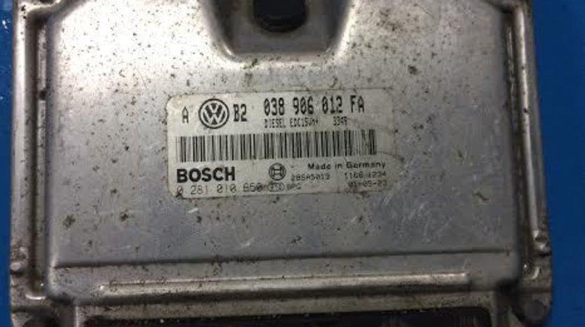 Calculator motor ECU VW Volkswagen Golf 4 1.9 TDI ALH an 1996 - 2010 cod 038906012FA