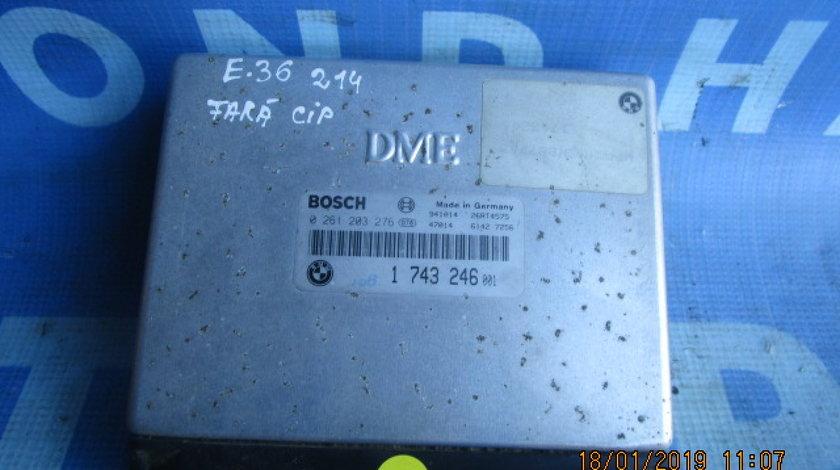 Calculator motor fara cip BMW E36 316i; 1743246001