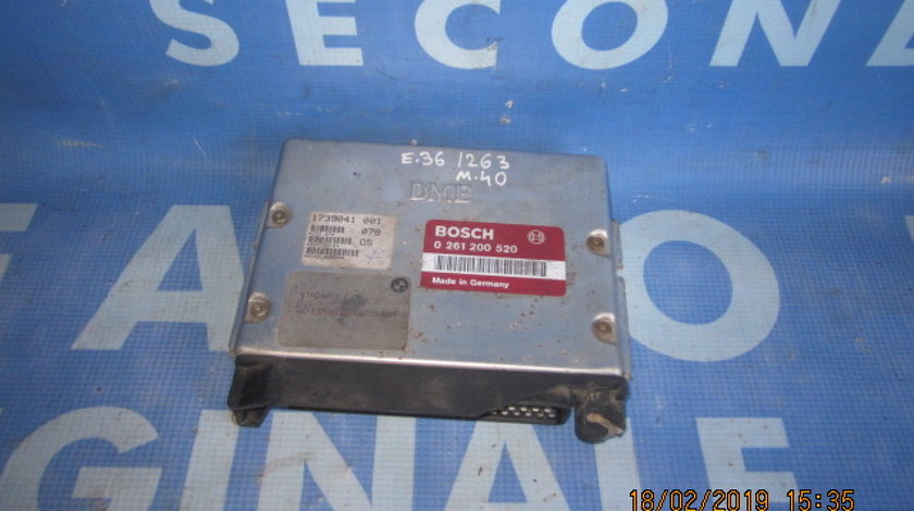 Calculator motor fara cip BMW E36 318i; 0 261 200 520