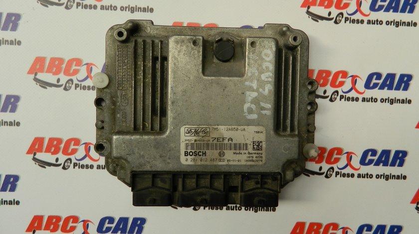 Calculator motor Ford Focus 1.6 TDCI COD:7M51-12A650-UA