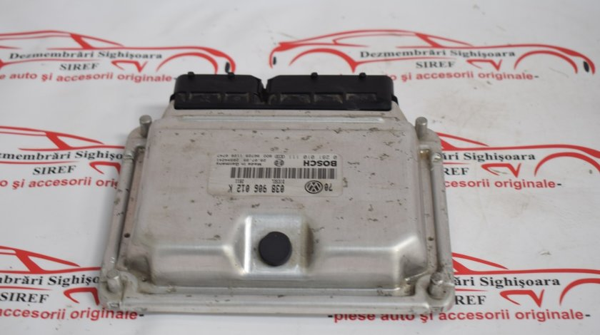Calculator motor Golf 4 1.9 TDI AGR 038906012K 539