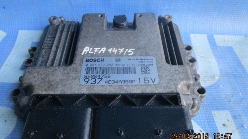 Calculator motor (incomplet) Alfa Romeo 147 1.9jtdm; 9374E34A3BBM