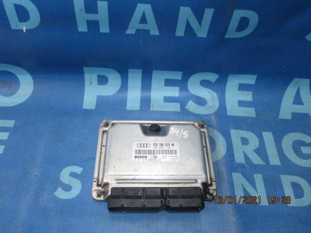 Calculator motor (incomplet) Audi A4 1.9tdi 2000; 038906019AN