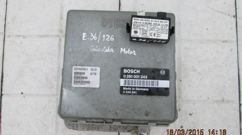 Calculator motor (incomplet) BMW E36 318tds 1.7tds M41 (cip cheie pierdut)