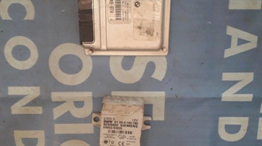 Calculator motor (incomplet) BMW E46 320d 2.0d M47 ; 2 249 970