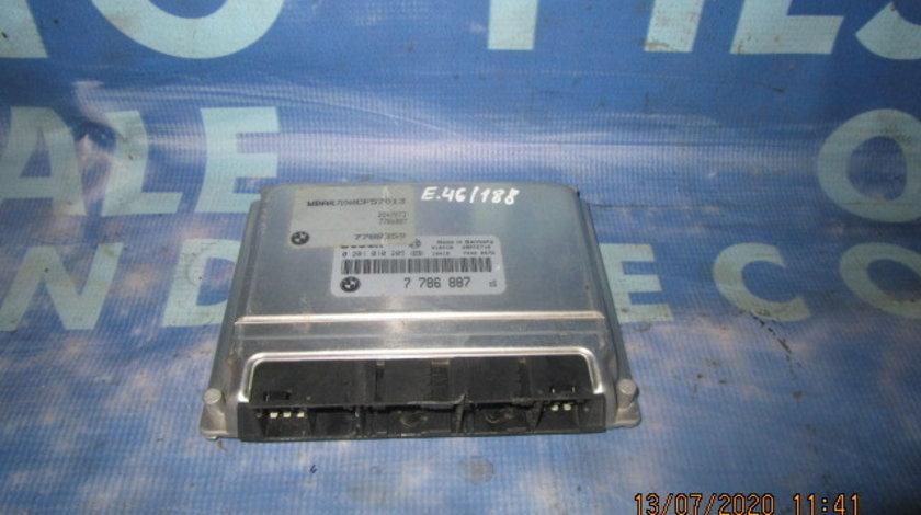 Calculator motor (incomplet) BMW E46 320d 2.0d M47; 7786887