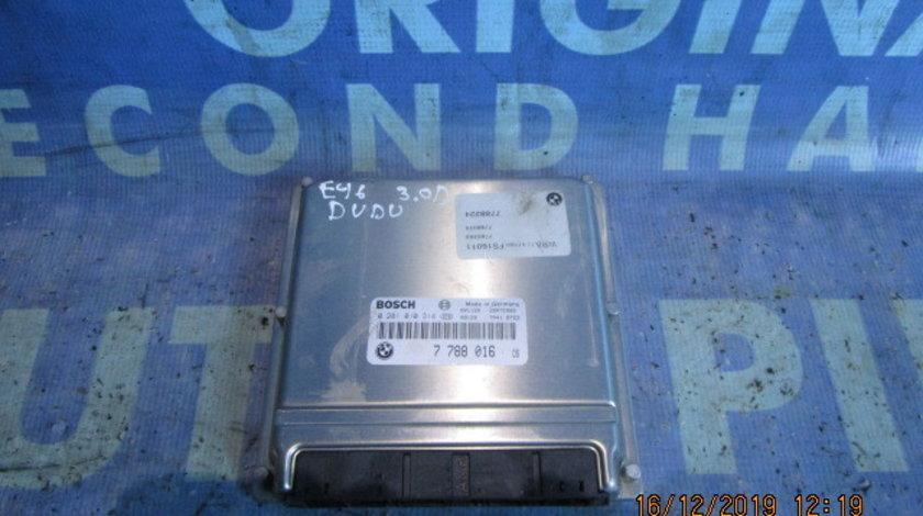 Calculator motor (incomplet) BMW E46 330d 3.0d M57 2001;  7788224 // 7788010