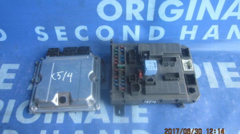 Calculator motor (incomplet) Citroen C5 2.2hdi; 9645534880