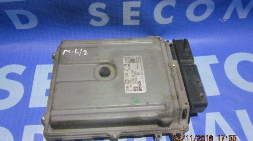 Calculator motor (incomplet) Mercedes M420 W164;  A6291501779
