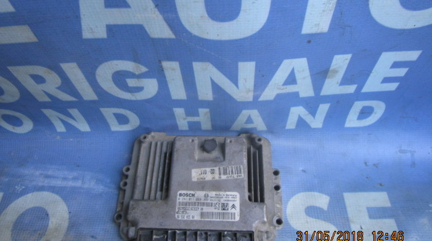Calculator motor (incomplet) Peugeot 206 1.4hdi; 9653202580