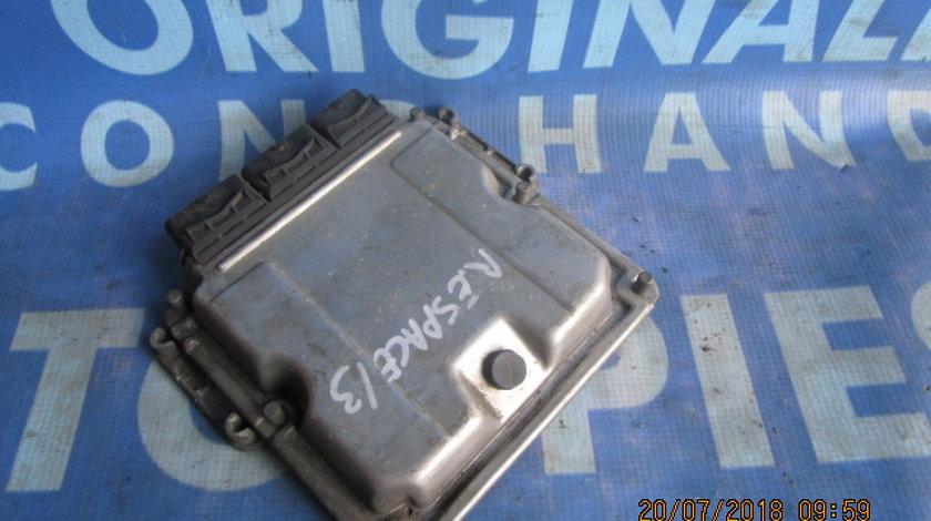 Calculator motor (incomplet) Renault Espace 2.2dci; 7700115494