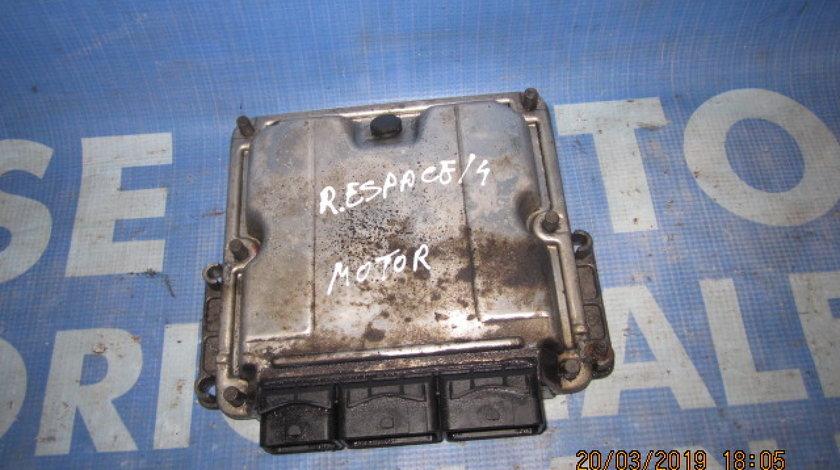 Calculator motor (incomplet) Renault Espace 2.2dci; 0281001999