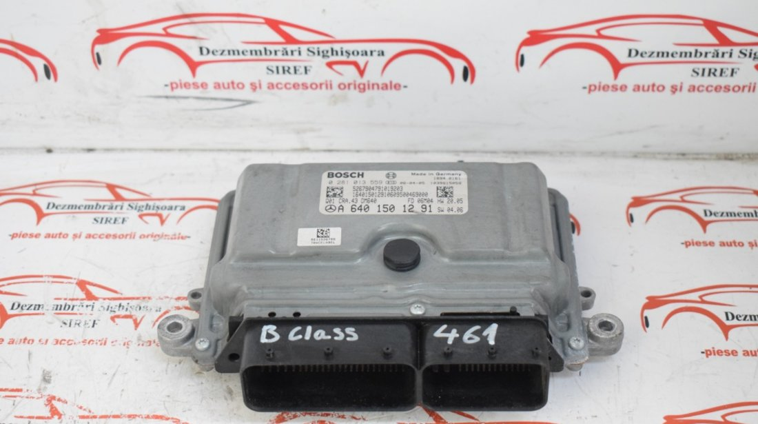 Calculator motor Mercedes B Class 2.0 CDI 0281013559 A6401501291 461