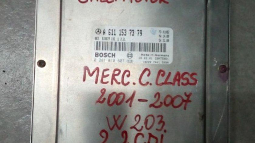 Calculator motor Mercedes C Class 2.2 CDI 2007 W203 cod A6111537379