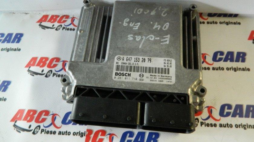 Calculator motor Mercedes C-Class 2.7 CDI Cod: A6471532079