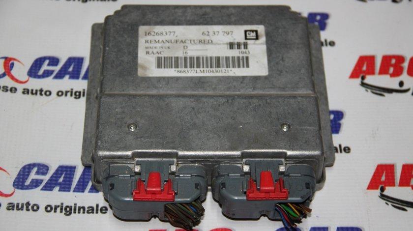 Calculator motor Opel Astra G 1.6 Benzina cod: 16268377 / 6237797 model 2000