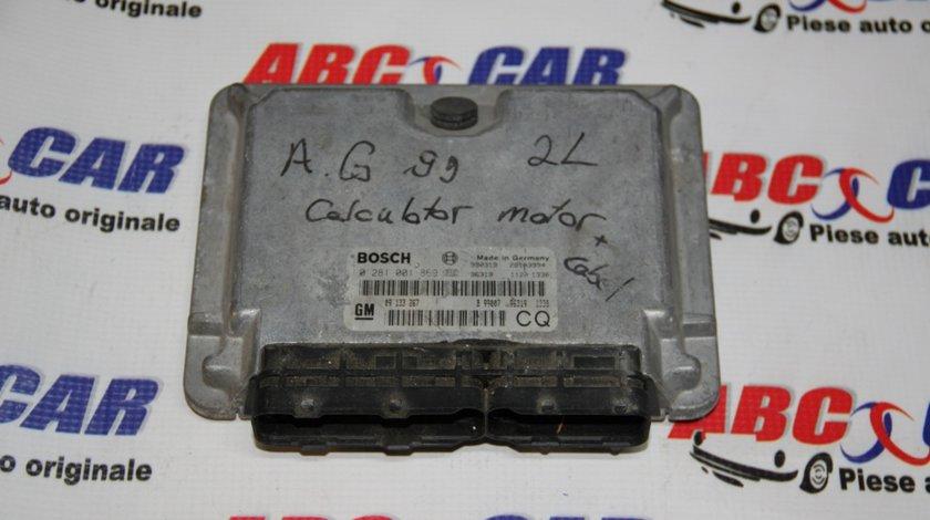 Calculator motor Opel Astra G 2.0 DTI cod: 0281001869 / 09133267CQ / 09133267 model 2001