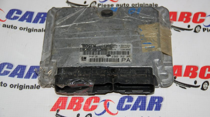 Calculator motor Opel Astra G 2.0 DTi cod: 0281010456 / 24417166 / 24417166PA model 2001