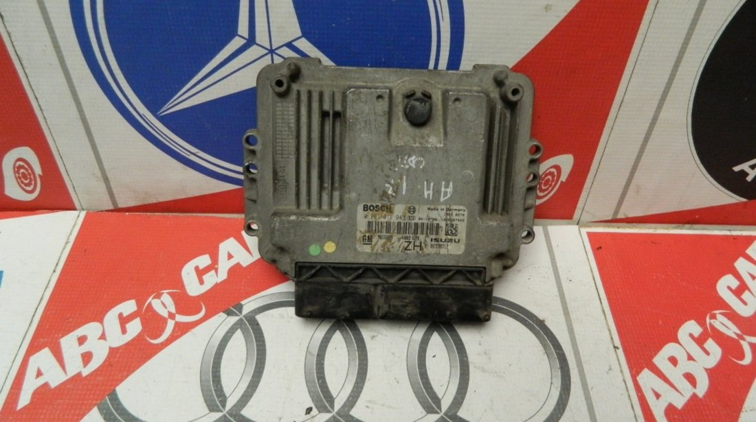 Calculator Motor Opel Astra H 1.7 CDTI COD:0281011943