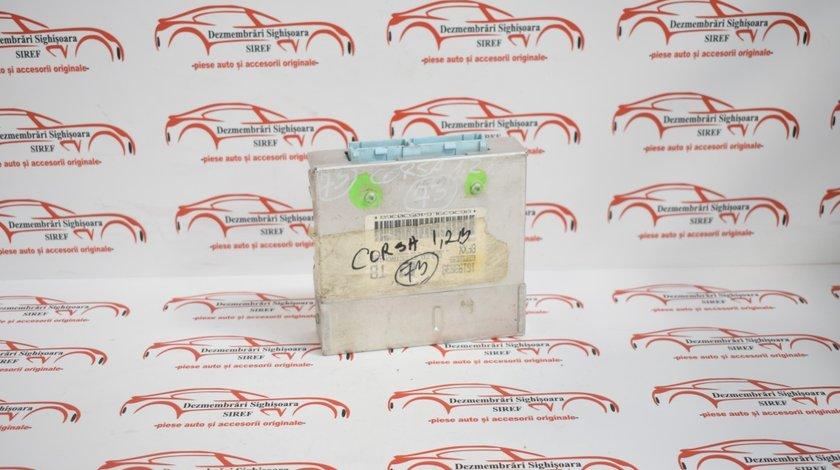 Calculator motor Opel Corsa B 1.2 benzina 1998 16153639