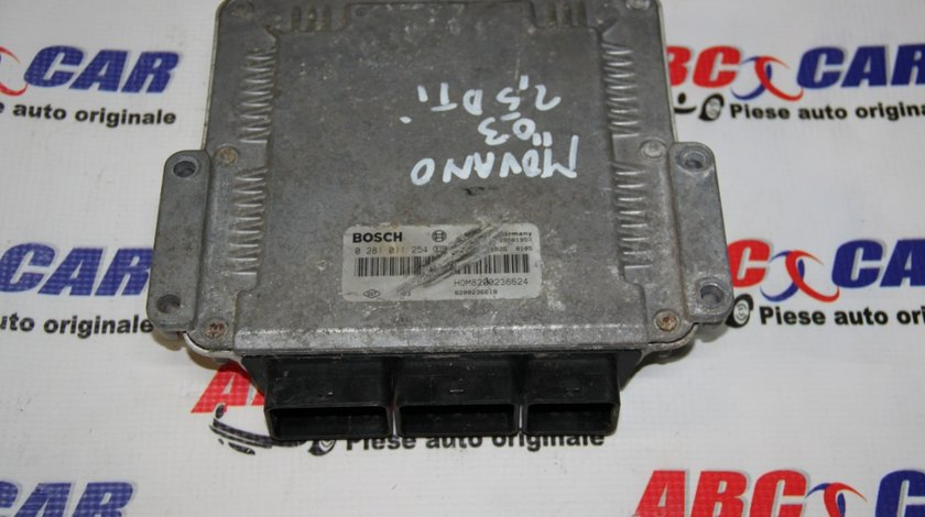 Calculator motor Opel Movano 2.5 DCI cod: 8200236618 / 0281011254 model 2005