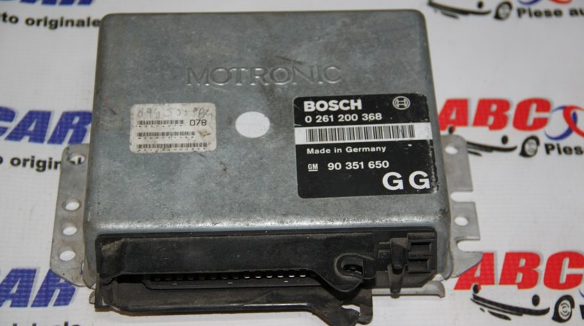 Calculator motor Opel Omega A 2.0 Diesel cod: 0261200368 / 90351650GG / 90351650 model 2000