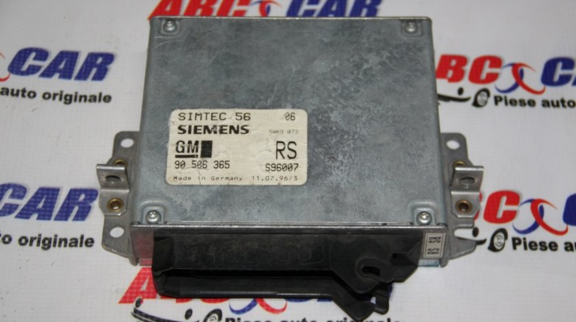 Calculator motor Opel Vectra B 1.8 Benzina cod: 90506365 / 90506365RS / S96007 model 2000
