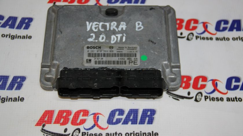 Calculator motor Opel Vectra B 2.0 DTI cod: 0281010269 / 24417194PE / 24417194 model 2000