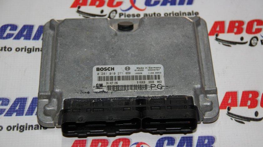 Calculator motor Opel Vectra B 2.2 DTI cod: 24417196 / 24417196PG / 0281010271 model 2000