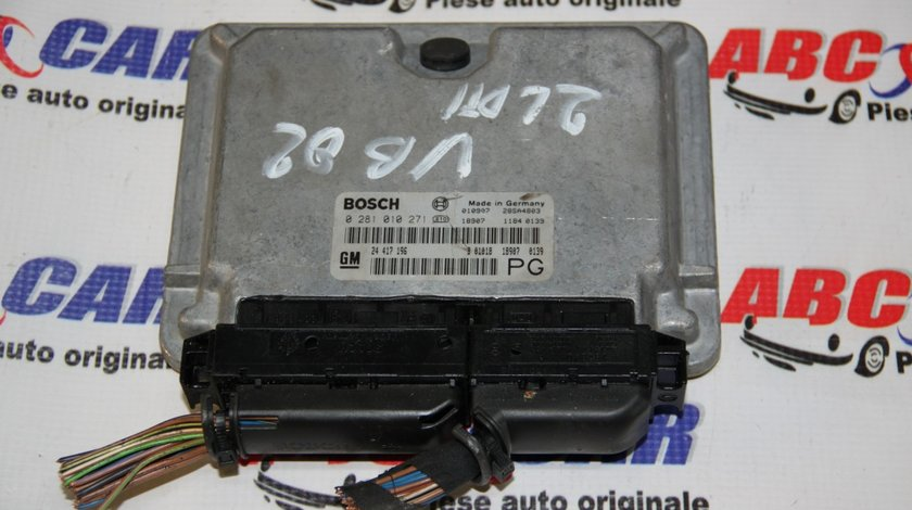 Calculator motor Opel Vectra B 2.2 TDI cod: 0281010271 / 24417196PG / 24417196 model 2000
