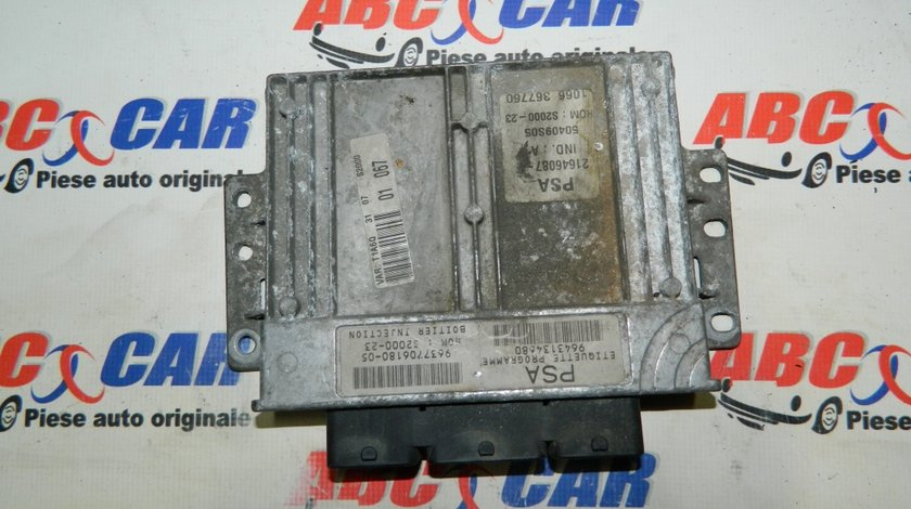 Calculator motor Peugeot 206 1.4 benzina cod: 9643134680 model 2000