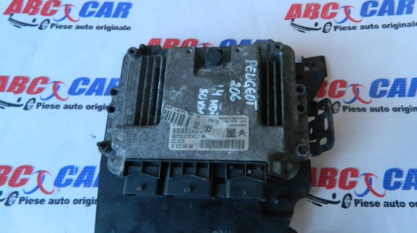 Calculator motor Peugeot 206 1.4 HDI model 1999 - 2010 cod: 655919780