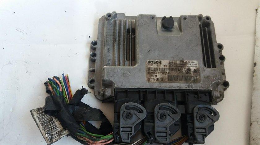 Calculator motor peugeot 307 citroen c3 1.4hdi 9658556880 0281011785