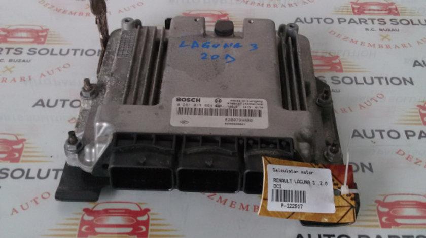 Calculator motor RENAULT LAGUNA 3 2007-2012