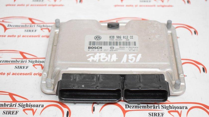 Calculator motor Skoda Fabia 038906012ce 151