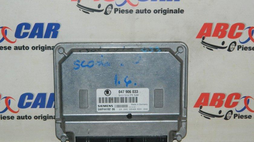 Calculator motor Skoda Fabia 1 1.4 MPI cod: 047906033