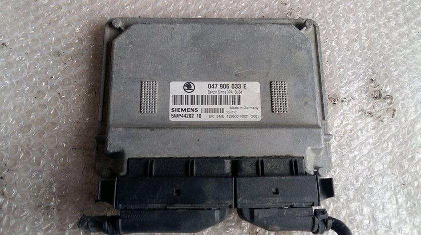 Calculator motor skoda fabia 1 1.4mpi 1999-2007 047906033e 5wp44202 10
