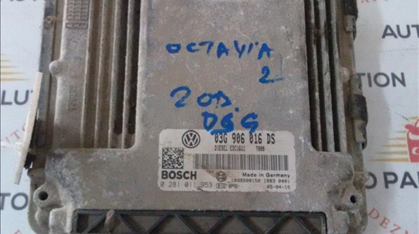 Calculator motor SKODA OCTAVIA 2 2005-2009