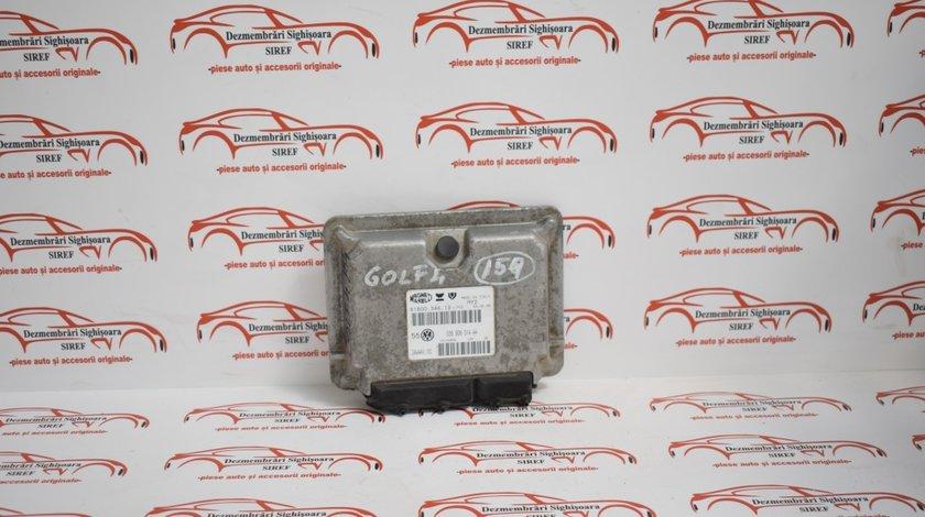 Calculator motor Volkswagen Golf 4 1.4 benzina 2001 036906014AA