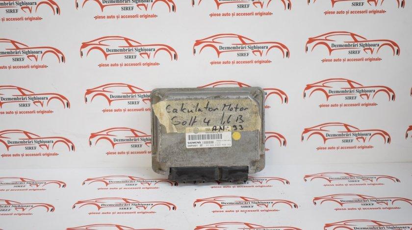 Calculator motor Volkswagen Golf 4 1.6 benzina 1999 06A906019BQ