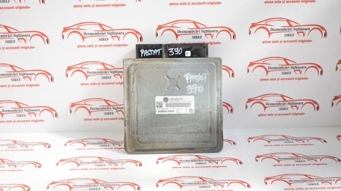 Calculator motor Volkswagen Passat B6 3C 2.0 Tdi 140 cp cod motor BKP 2007 03G906018 390