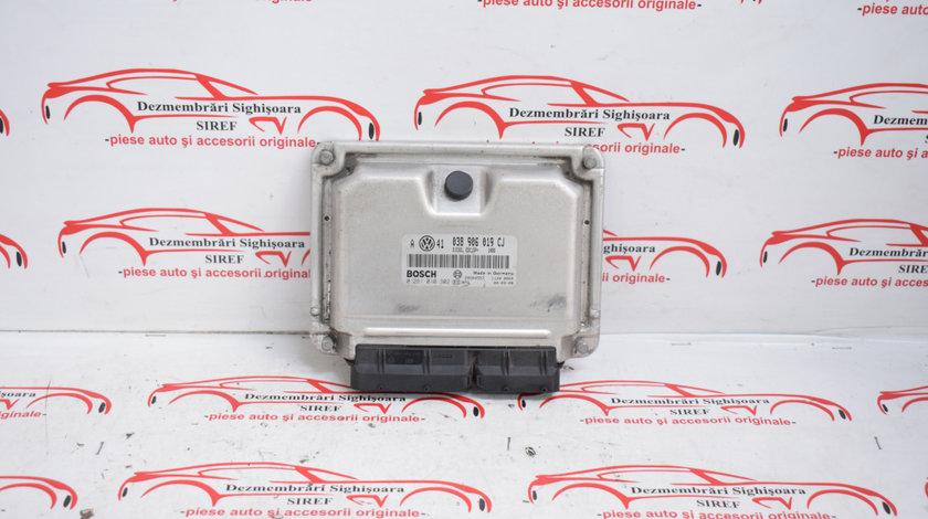 Calculator motor VW Bora 1.9 TDI AJM 038906019CJ 528
