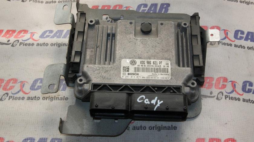 Calculator motor VW Caddy 2004-2014 1.9 TDI cod: 03G906021PF